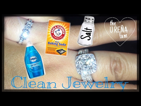 How to clean jewelry / diy jewelry cleaner
