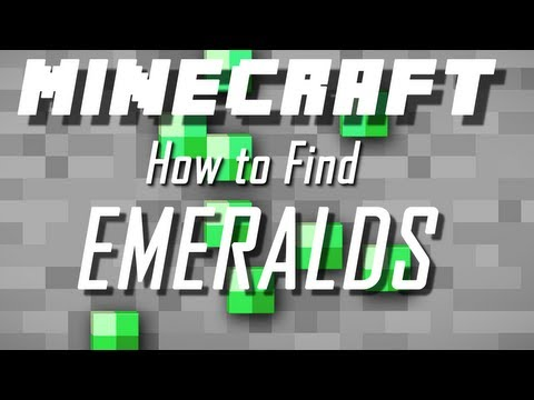 How to find emeralds in minecraft (1.6.4) - fast and easy!