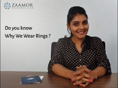 Do you know why we wear rings?