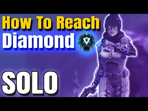 How to solo to diamond in apex legends season 8 ranked ! platinum to diamond ranked guide !