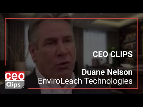 Ceo clips: duane nelson | enviroleach technologies | eco-friendly precious metal extraction