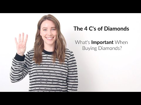 The 4 c's of diamonds - everything you need to know before you buy!